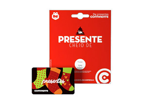 Dá Giftcard Continente